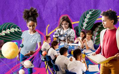 Cuidando da educação das crianças durante a crise da COVID-19